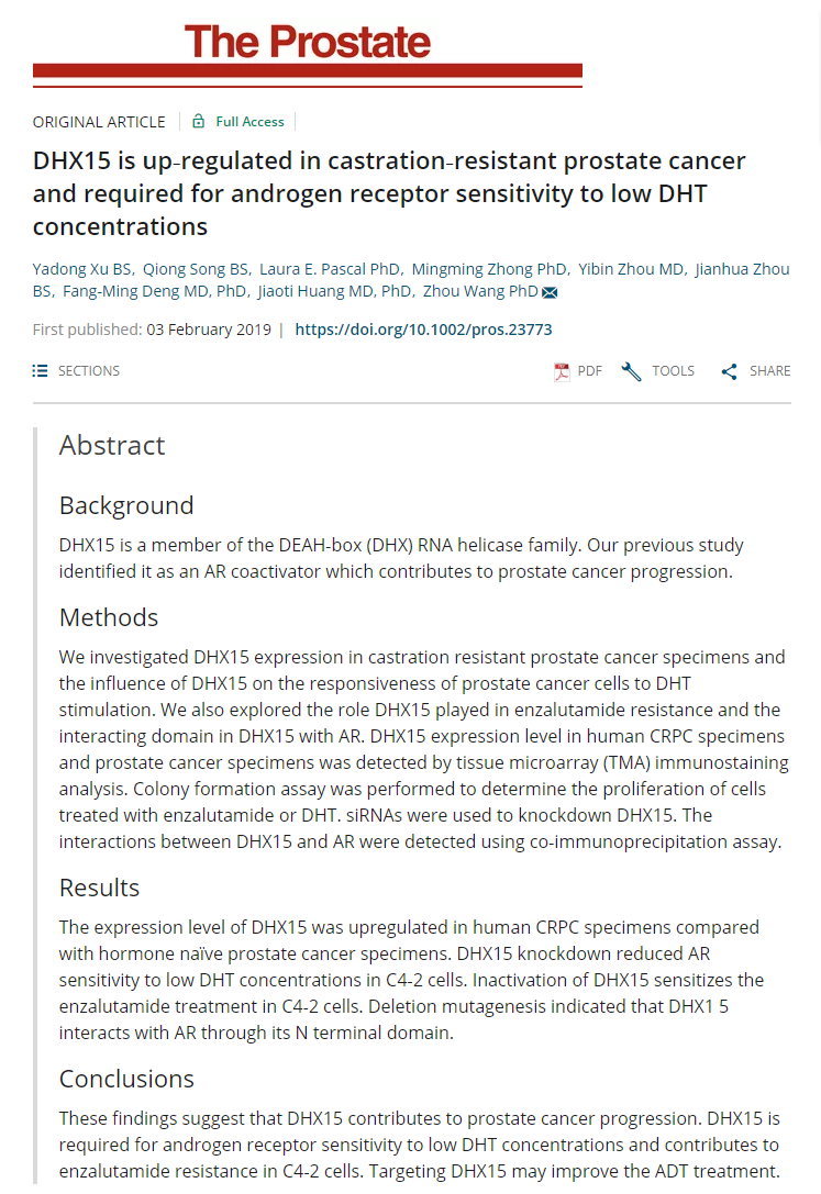 Publications / Citations | Prostate Cancer Biorepository Network (PCBN)